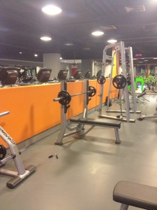 Fraser Suites Anthill gym
