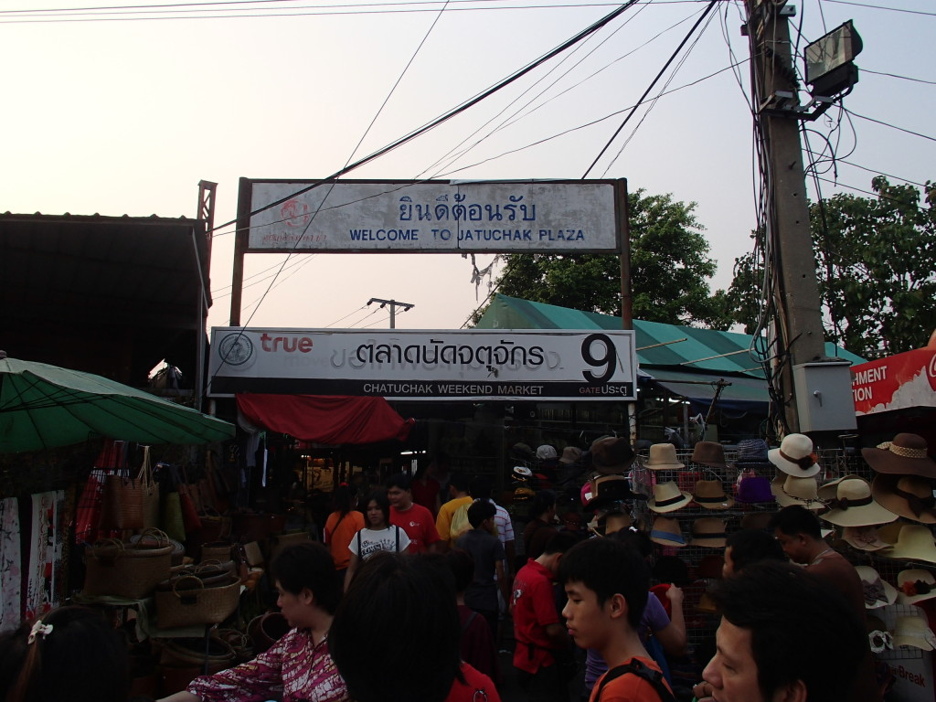 Chatachak Market Bangkok
