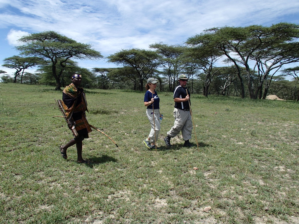 Serengeti bush hike