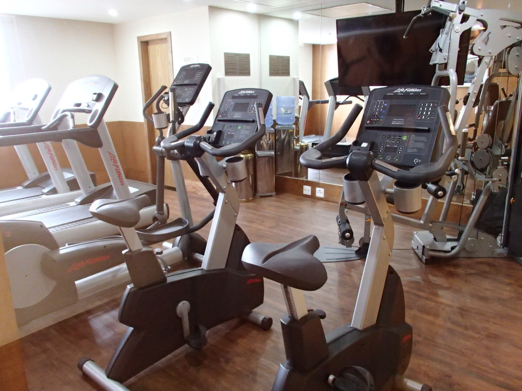 Gym at Windsor Copa Hotel in Rio