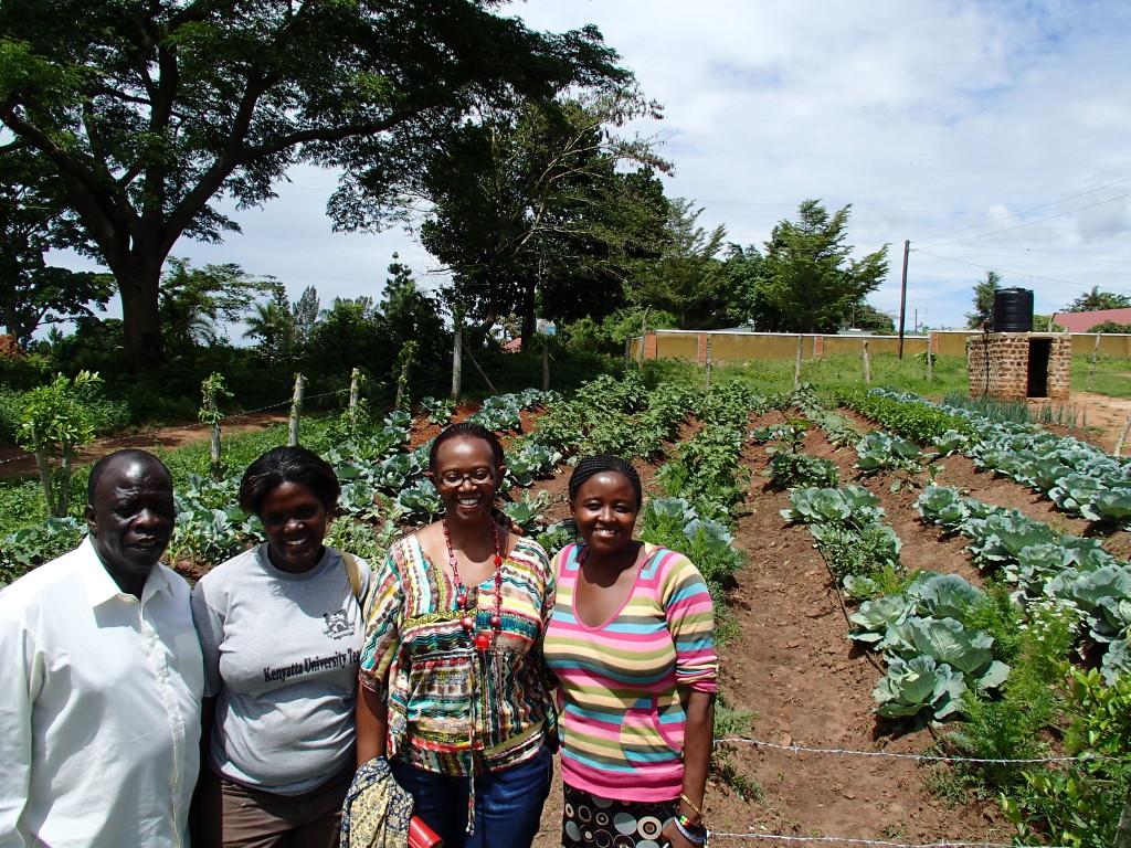 Elohim, Bombo Village, and COBATI representatives