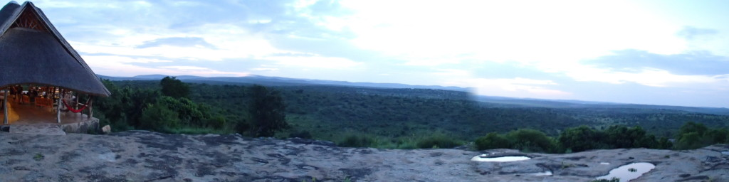 View from Rwakobo Rock near Lake Mburo
