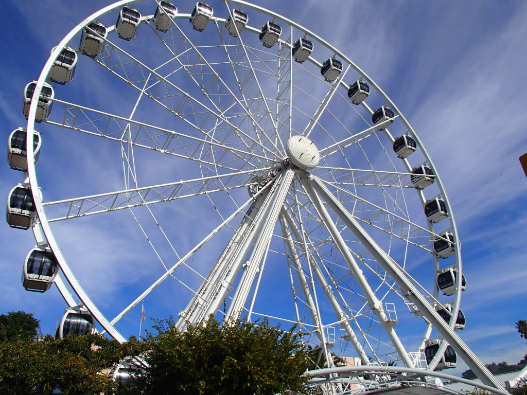 The only observation wheel in South Africa