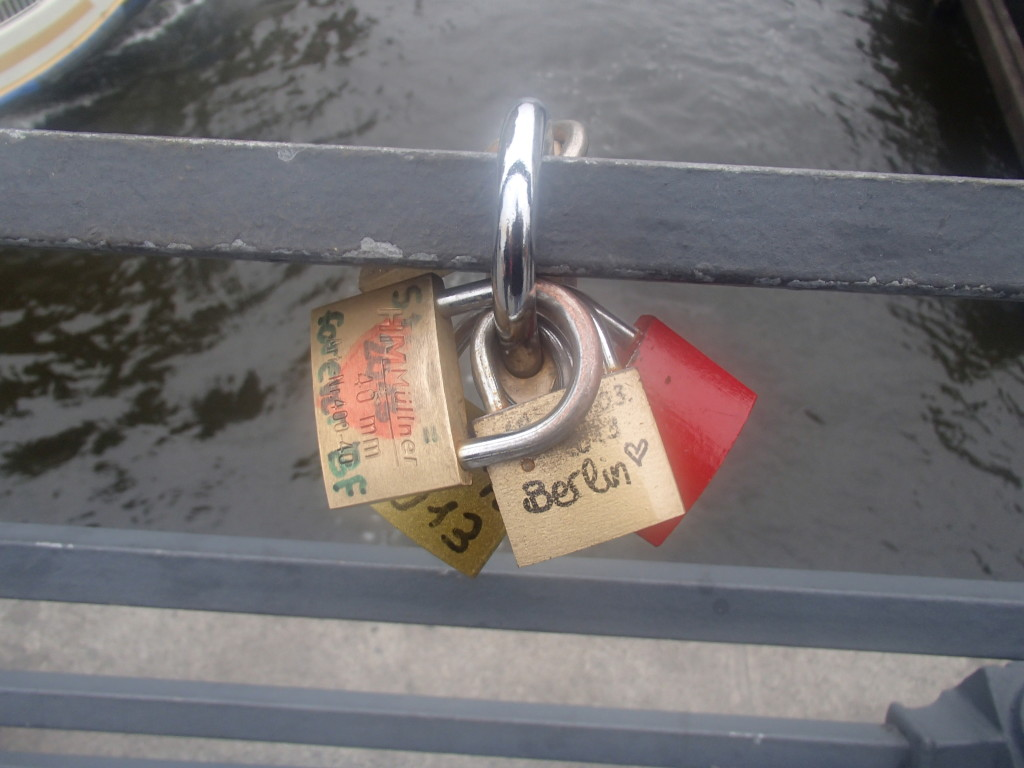 Padlocks over the River Spree