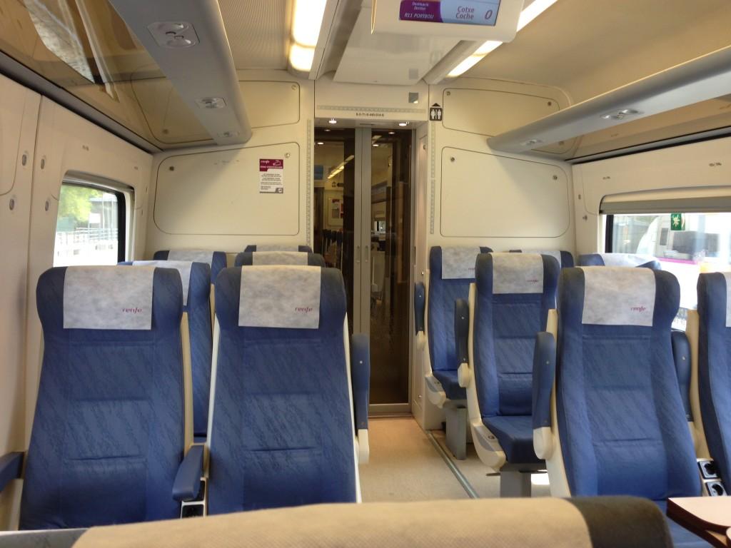 Renfe train Barcelona to Girona
