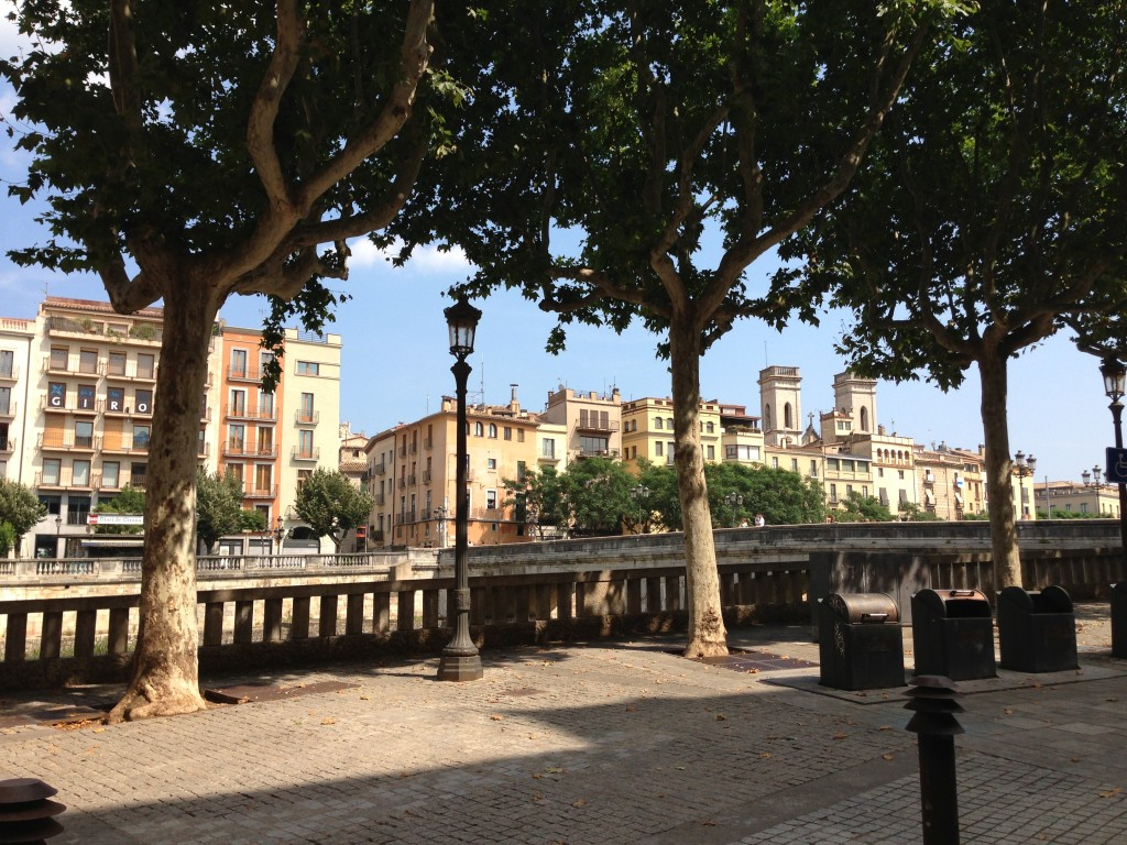 River Onyar Girona Spain