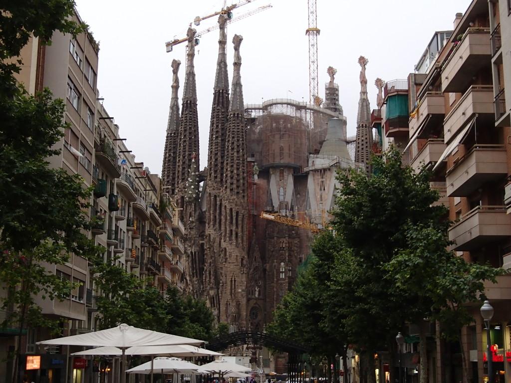 Sagrada Familia street view