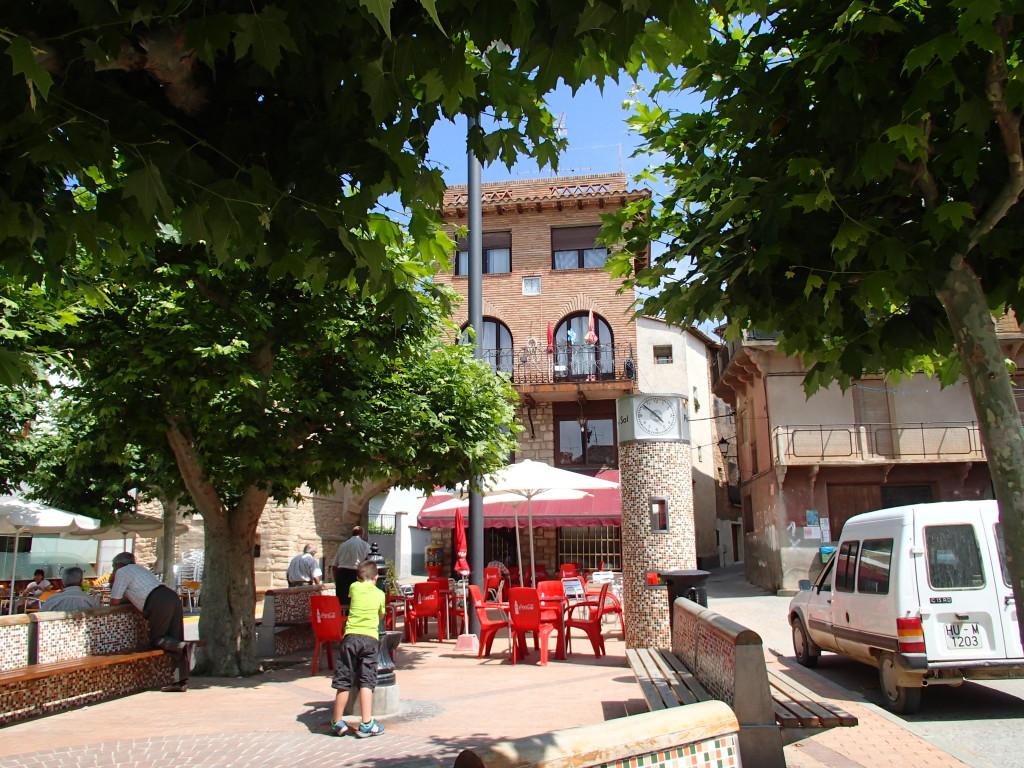 Estadilla Spain town square