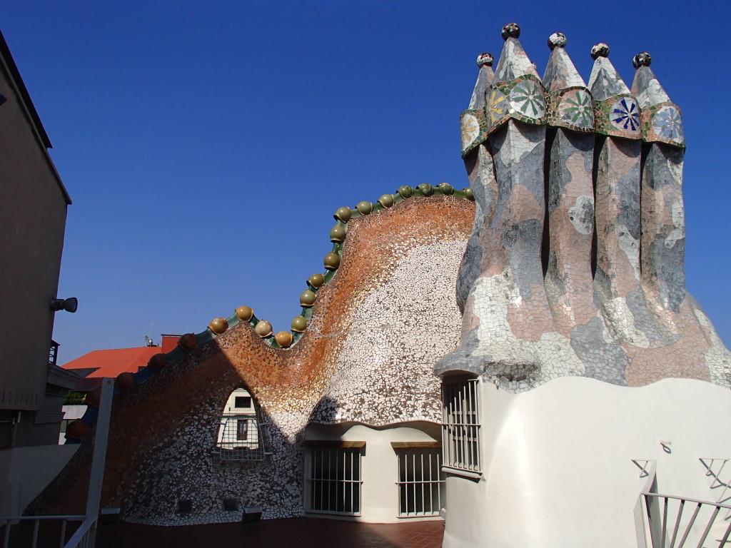 Gaudi Casa Batllo roof
