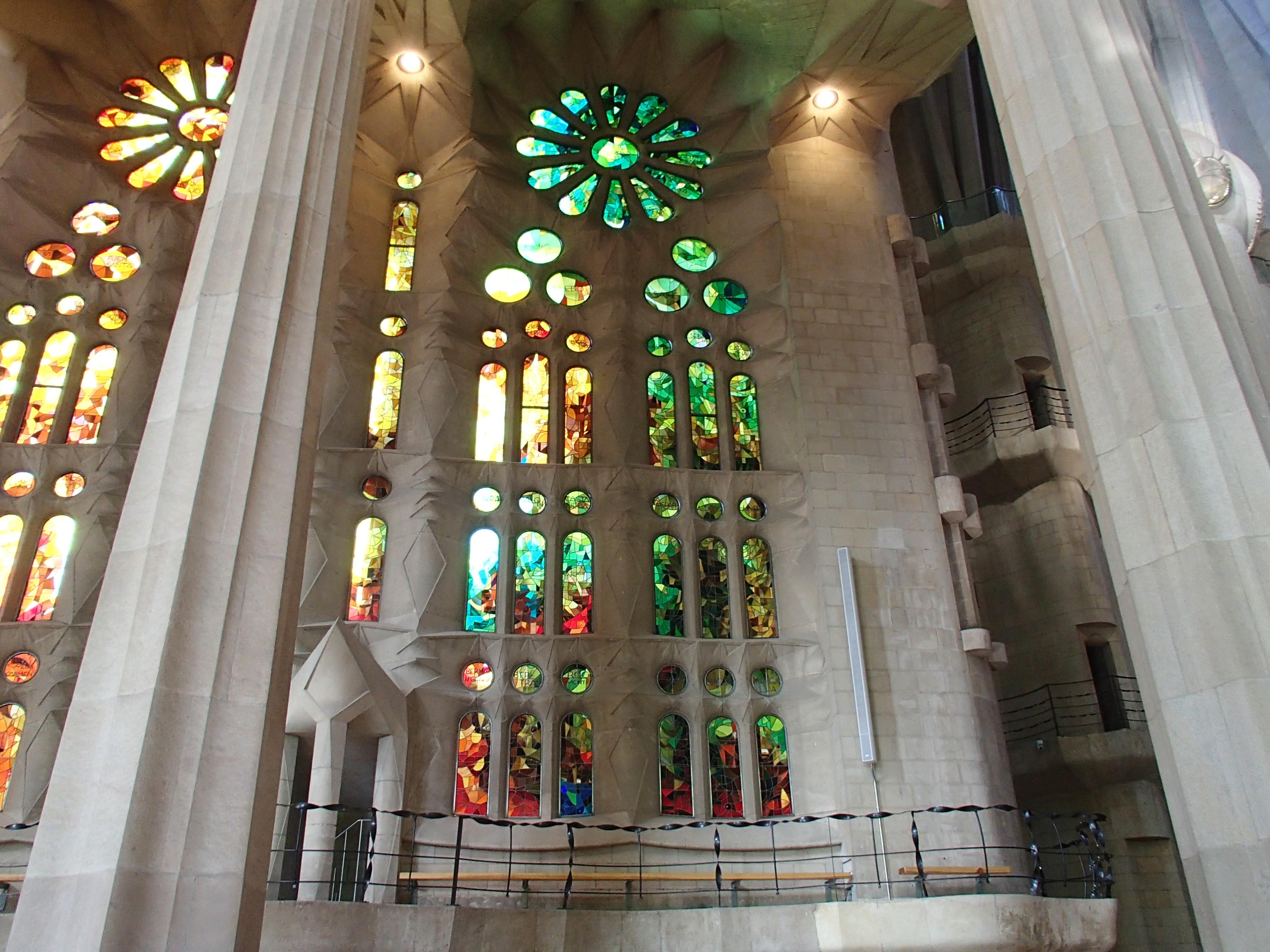 Gaudi architecture in barcelona michael lori 39 s world - Sagrada familia interieur ...