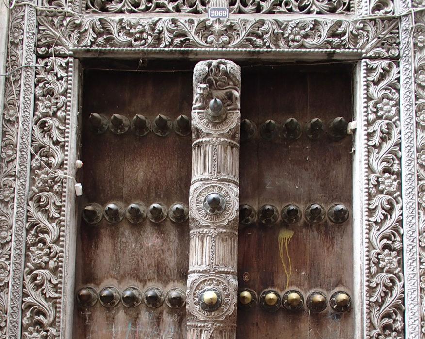 Stonetown Zanzibar door
