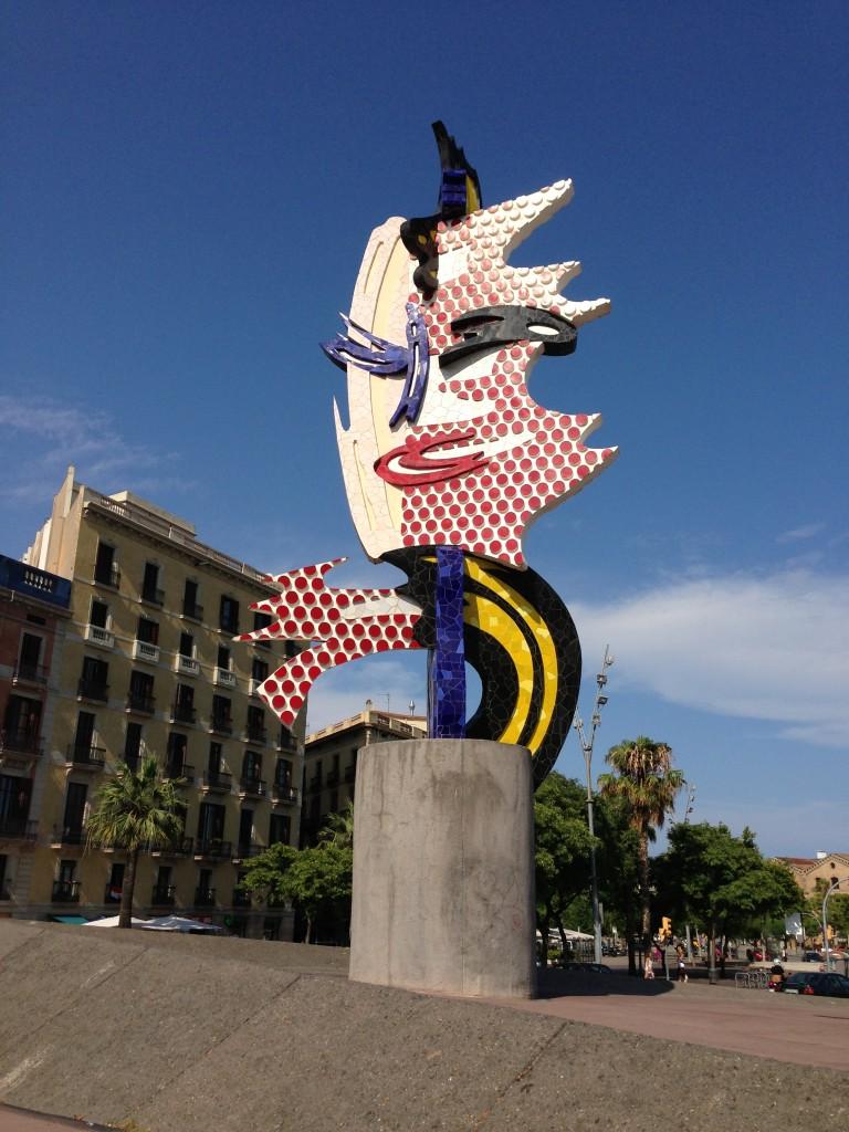 El Cap de Barcelona by Roy Lichtenstein