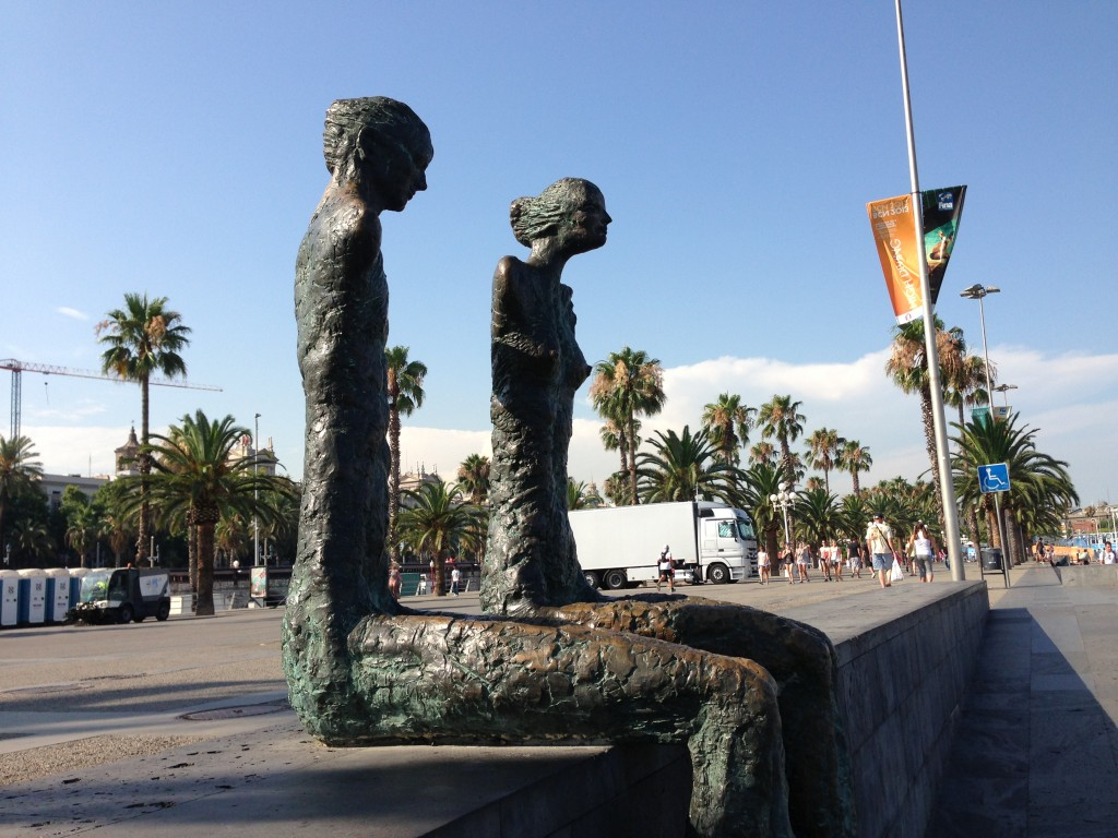 Lautaro Díaz Barcelona sculpture