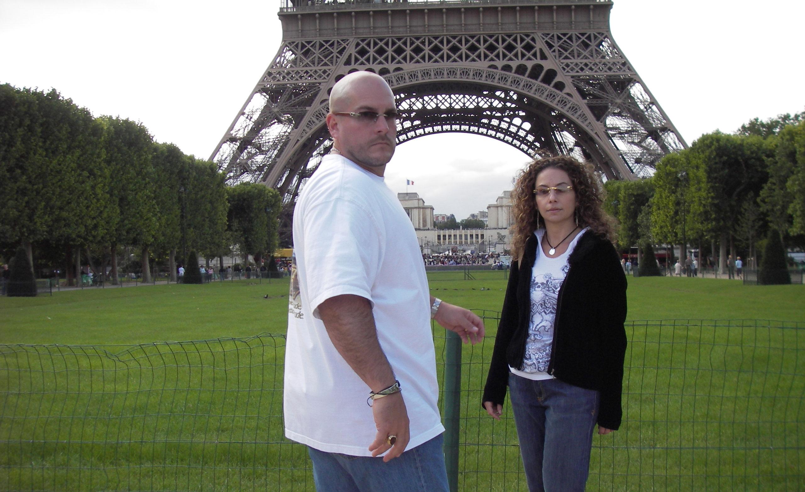 Lori and Michael in Paris