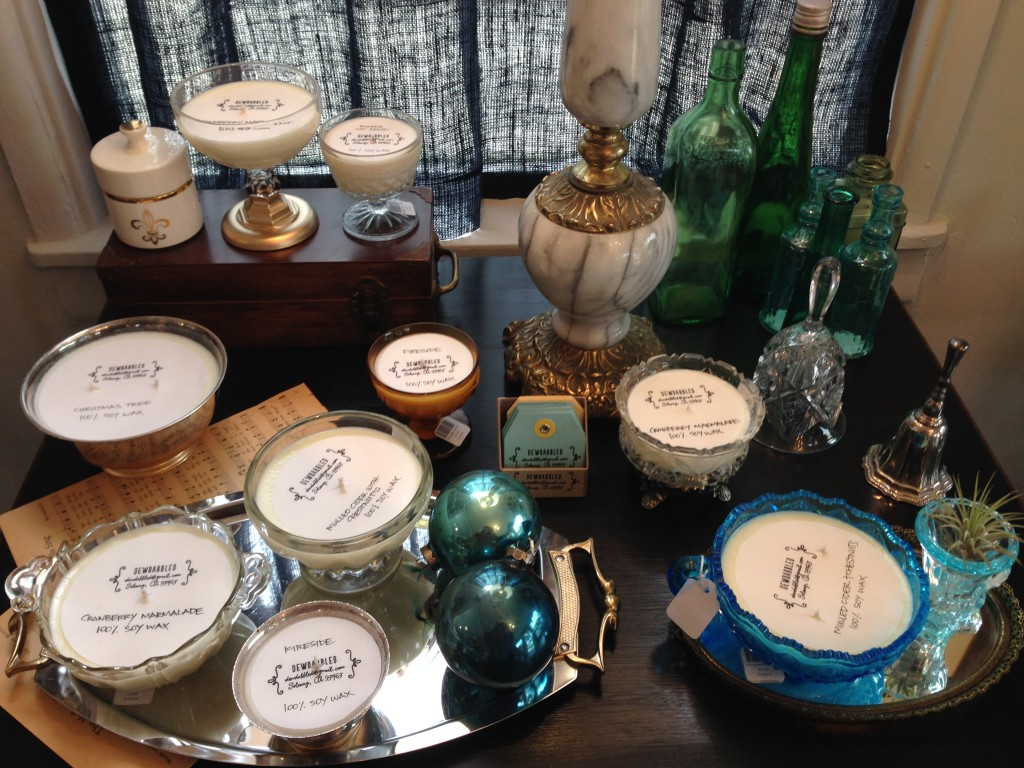 Candles by Dewdabbled at B Living