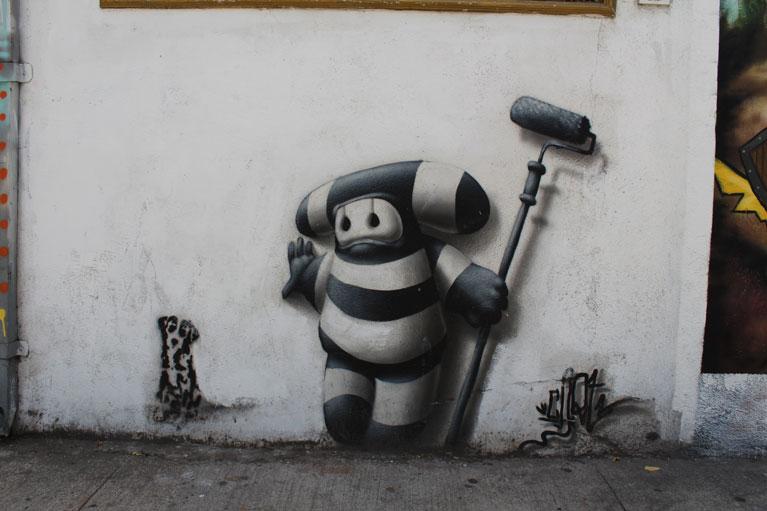 street art Santiago, Chile