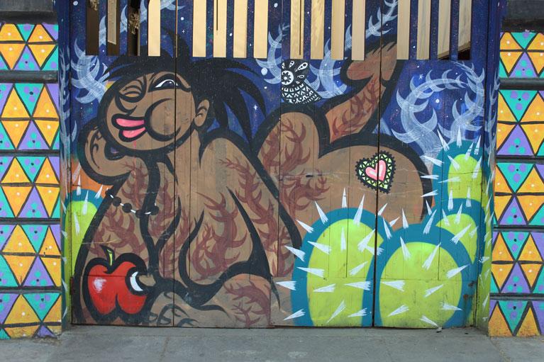 street art Bellavista Santiago