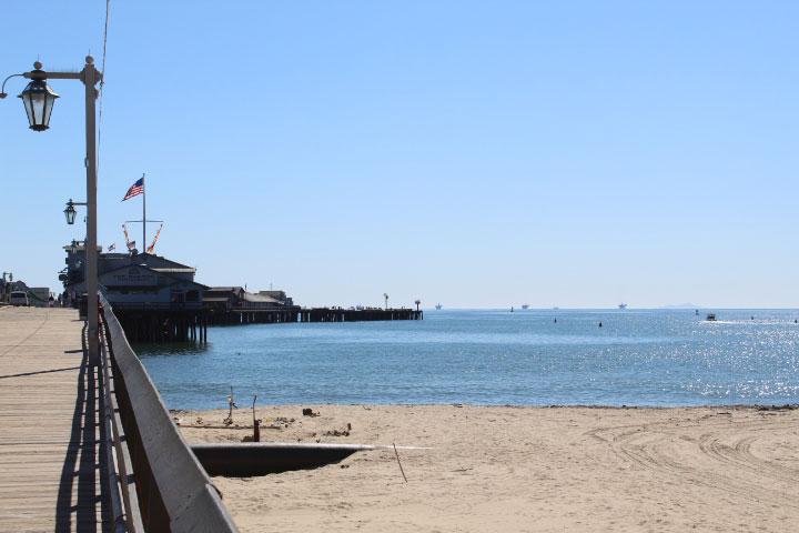Stearn's Wharf Santa Barbara
