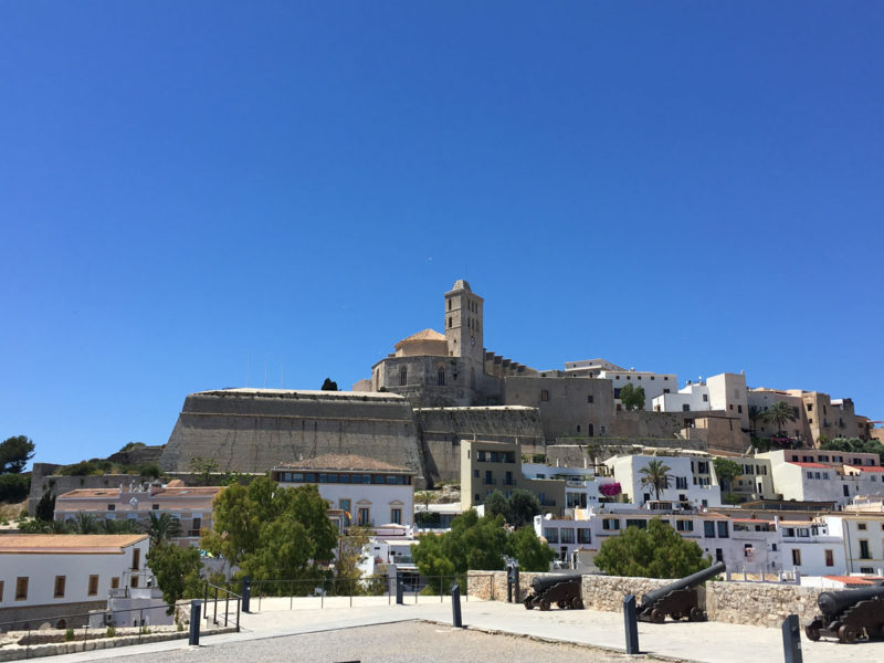 Dalt Vila in Eivissa