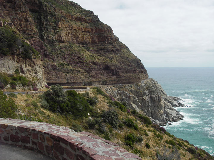 South Africa coastline