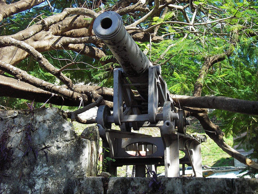 Fort Montego Jamaica canon