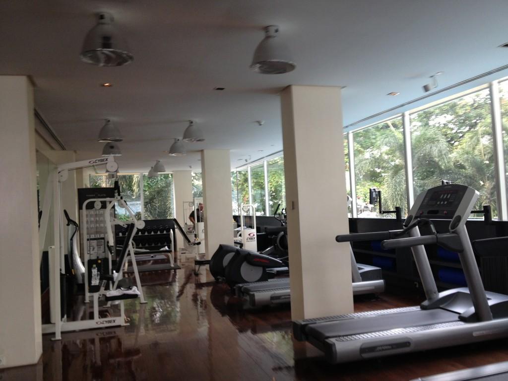 Metropolitan hotel Bangkok gym