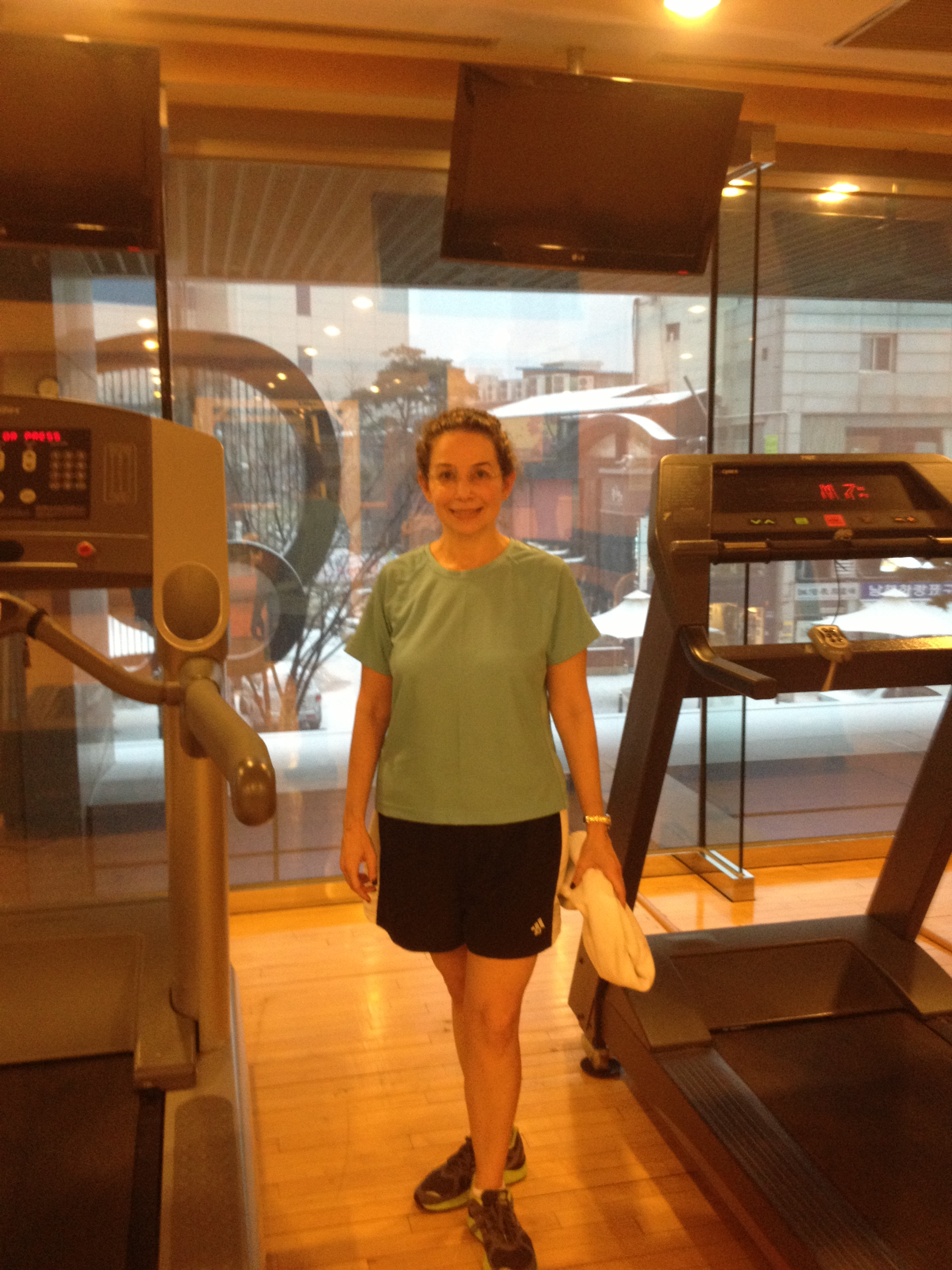 2nd floor gym