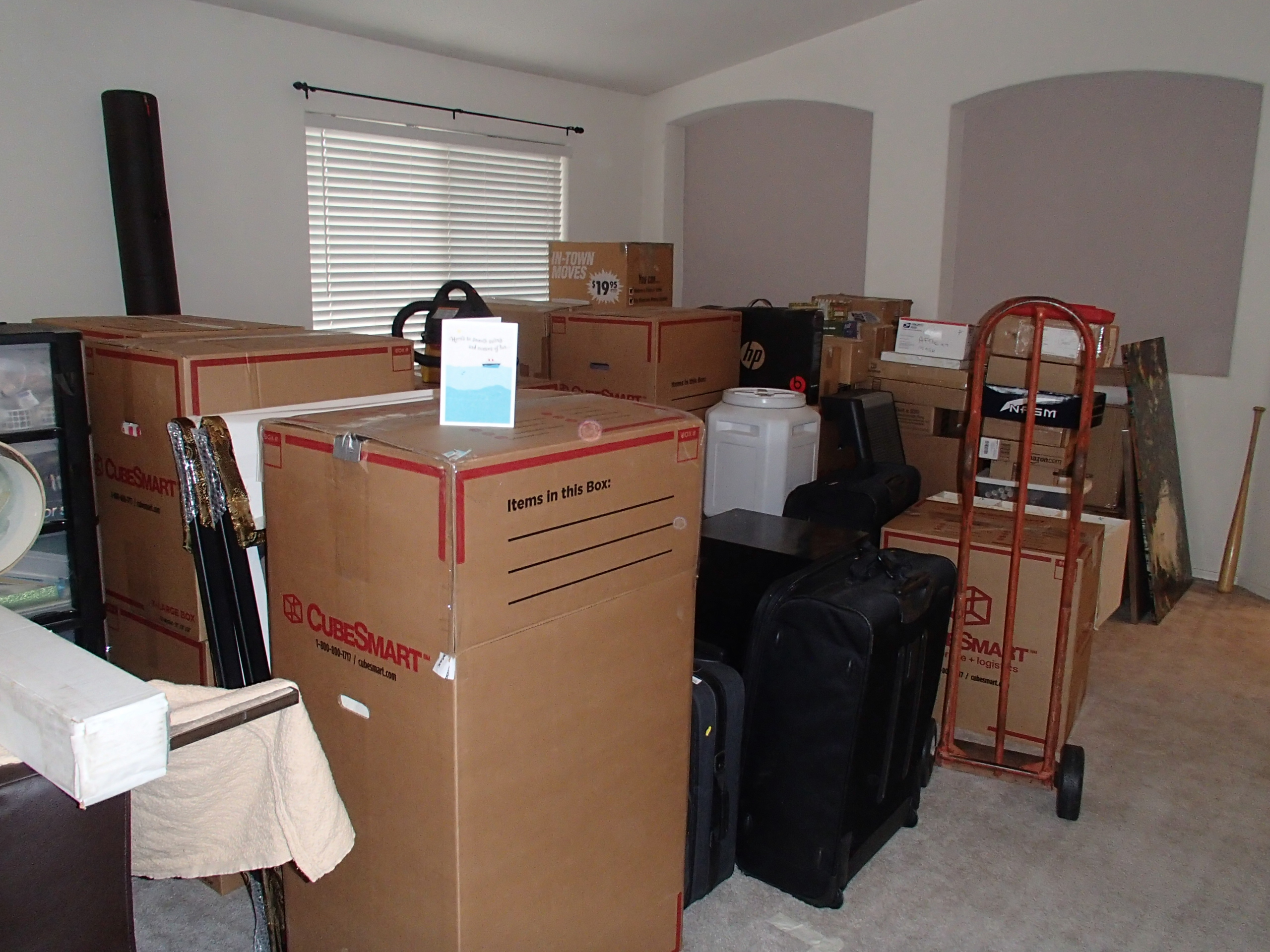 Packed