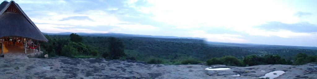 View from Rwakobo Rock near Lake Mburo