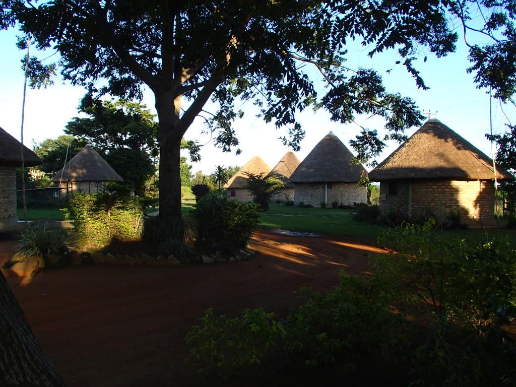 guest bandas at Uganda Wildlife Education Centre
