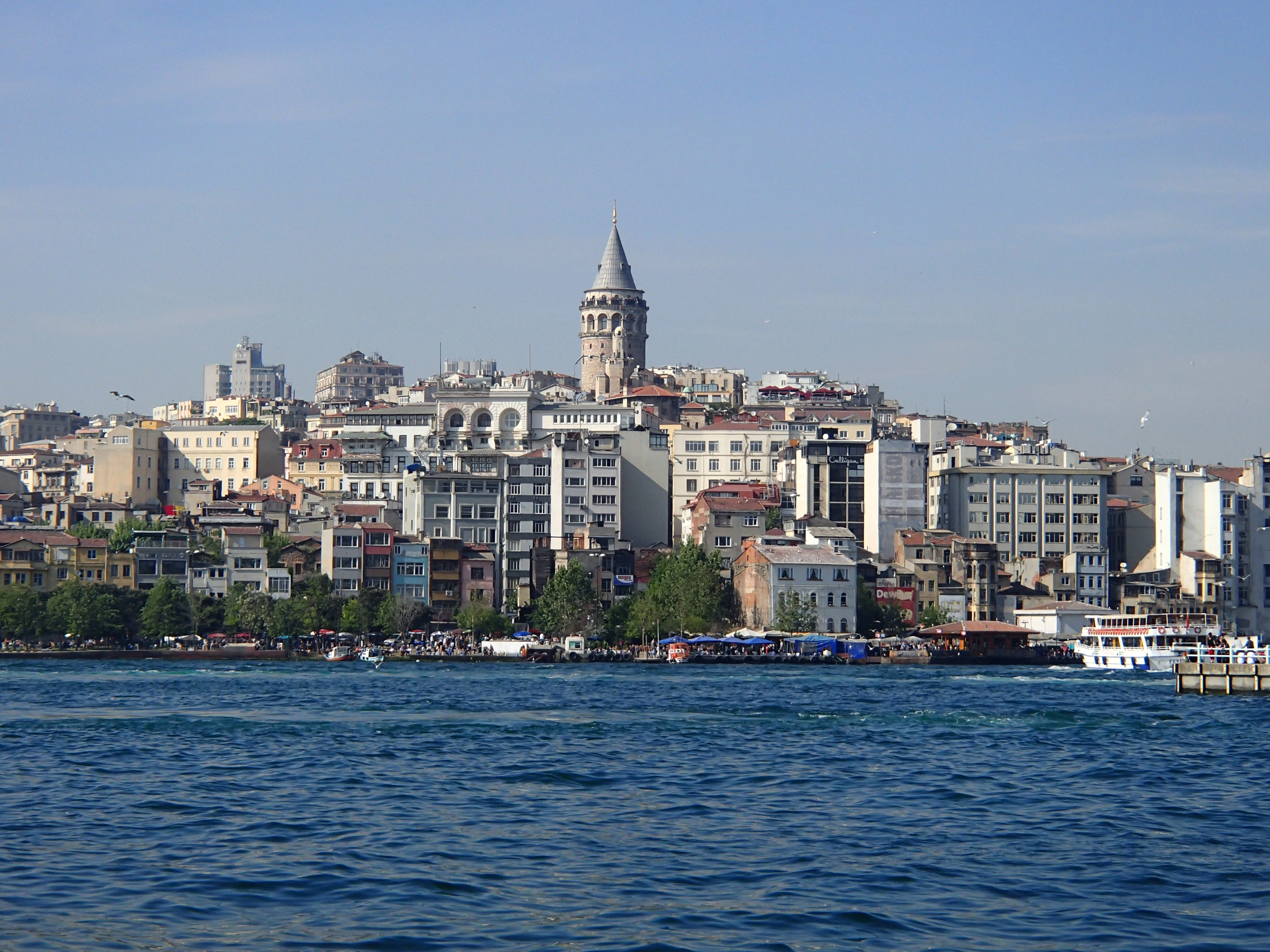 Bosphorus River and Galata Tower Istanbul