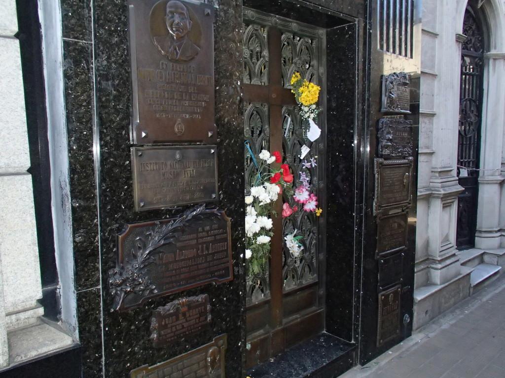 Recoleta Cemetery Eva Peron Grave