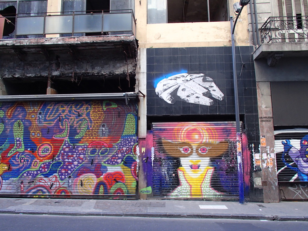 Cool street art Buenos Aires
