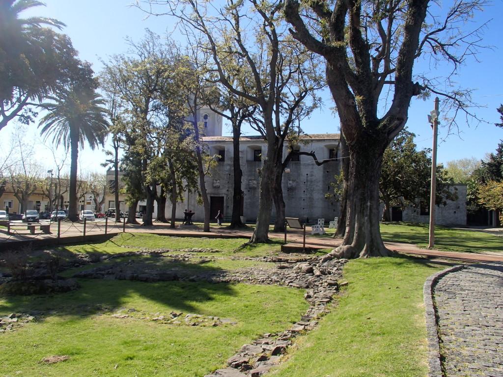 Colonia del Sacramento Uruguay basilica