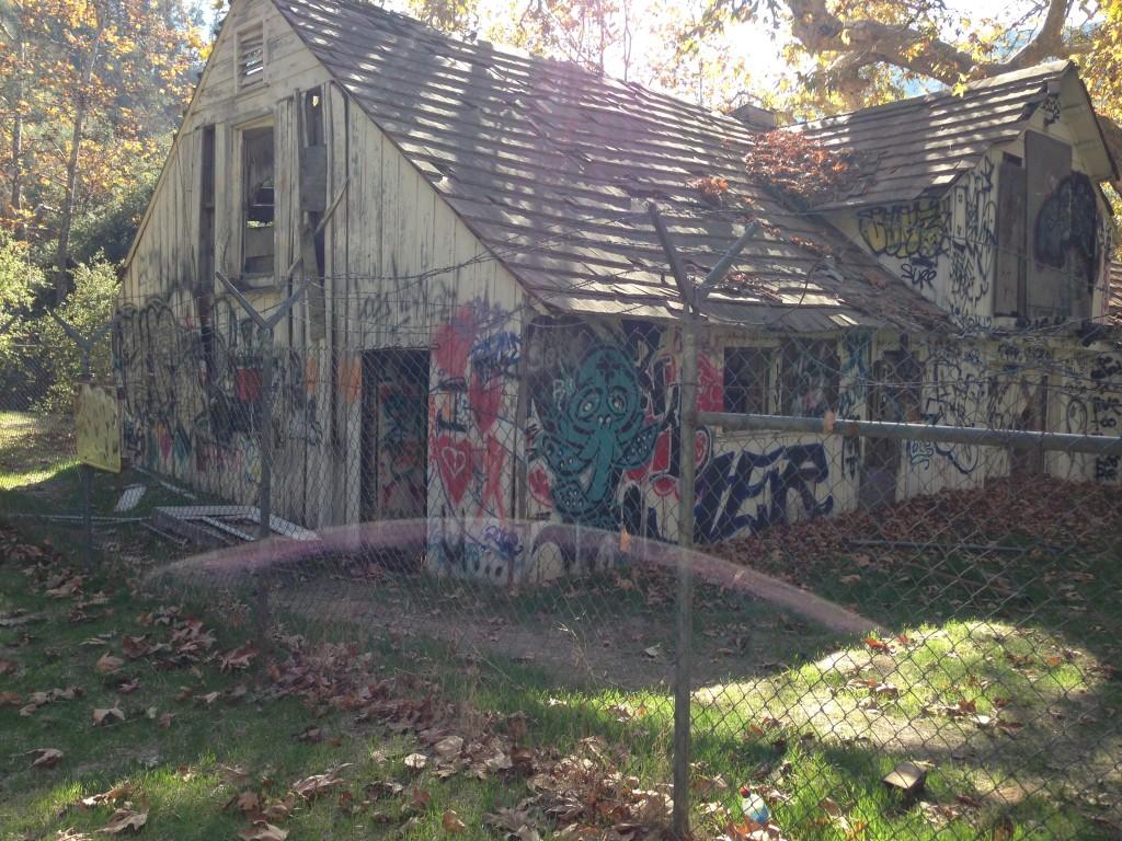 Murphy Ranch shed