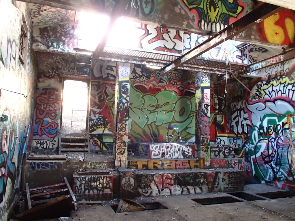 Murphy Ranch building interior