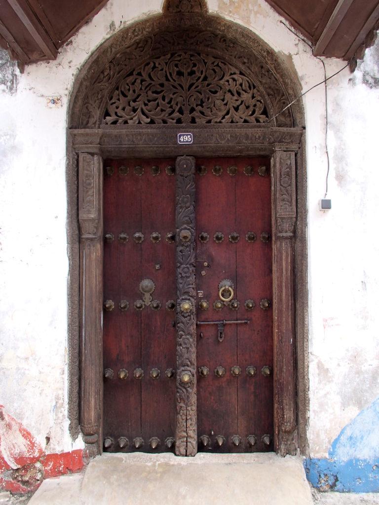 Stone Town Zanzibar door