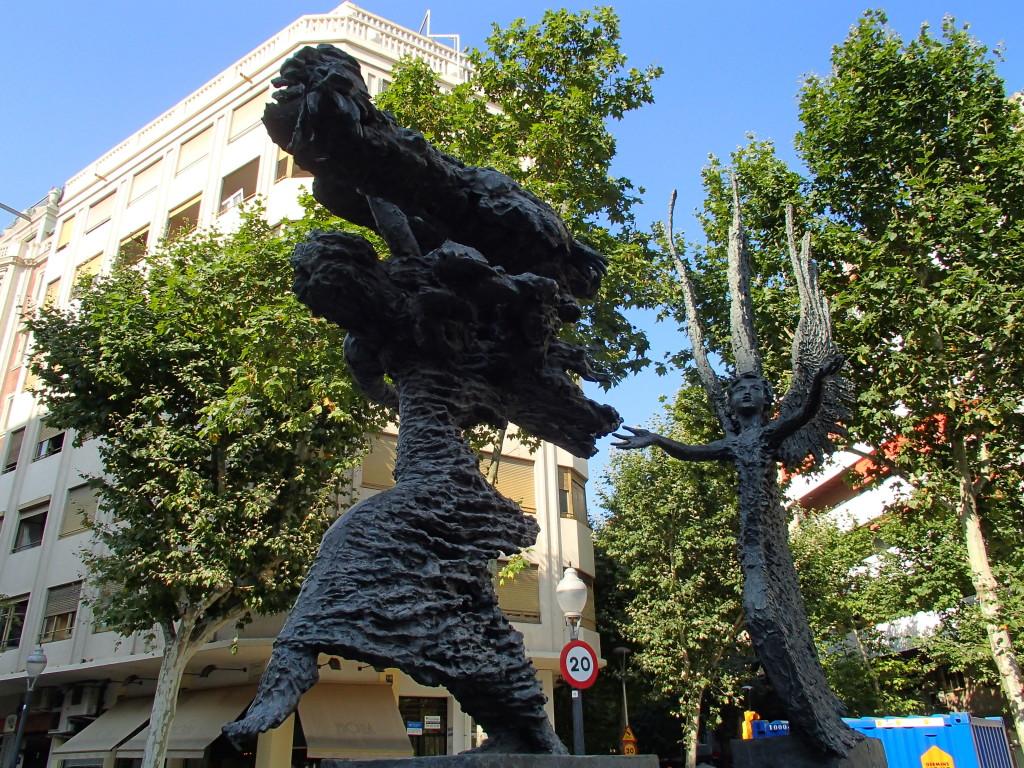 Barcelona public art