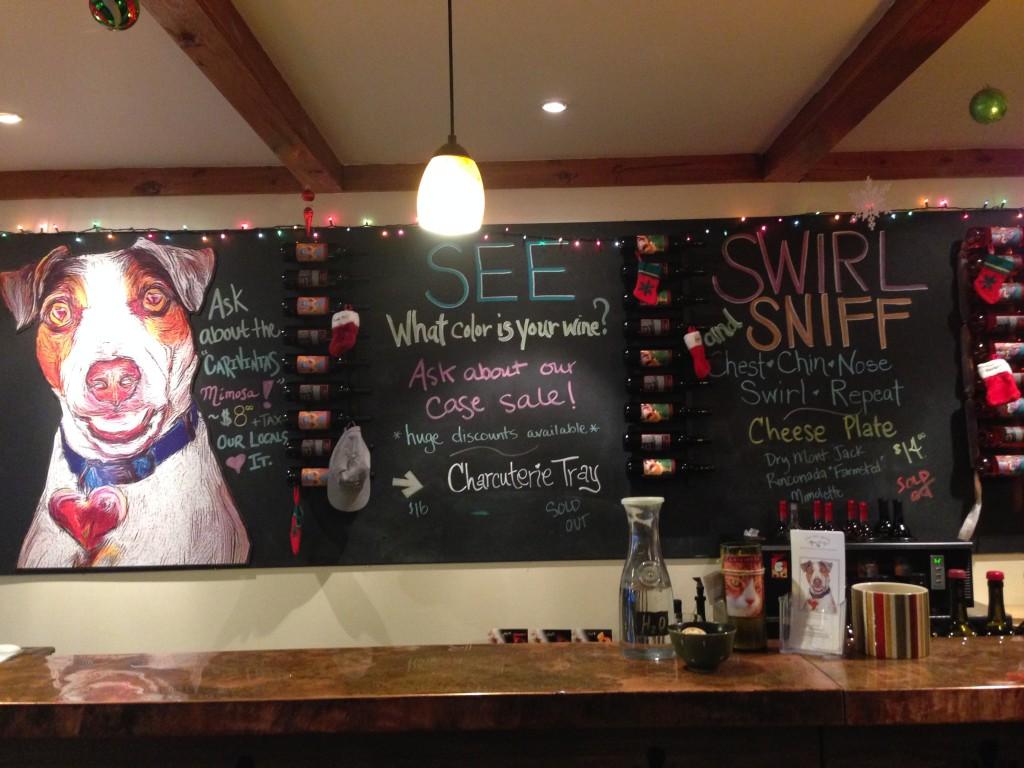 Carivitas tasting room in Solvang