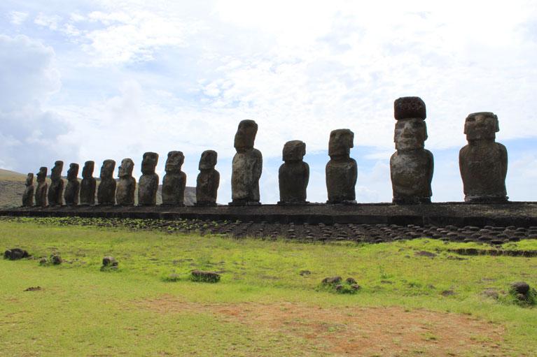 Ahu Tongariki platform