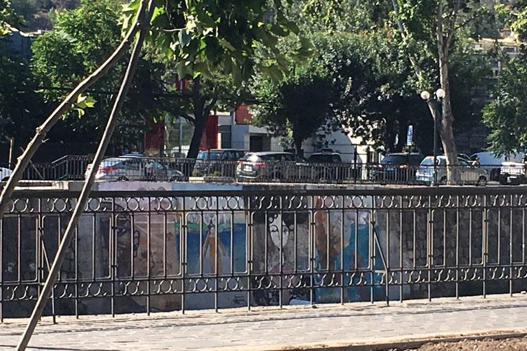 Mapocho River Santiago Chile street art