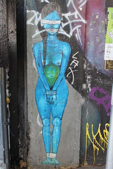 street art Lastarria Santiago