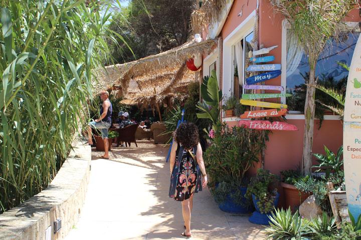 On the Beach Restaurant Cala de Sant Vincent Ibiza