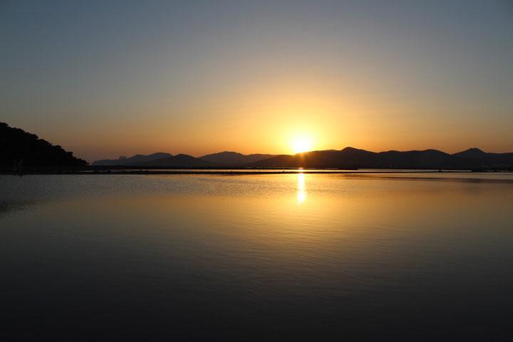 Ses Salines sunset