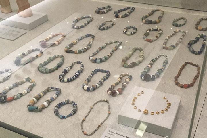 Necropolis des Puig des Molines trade bead jewelry