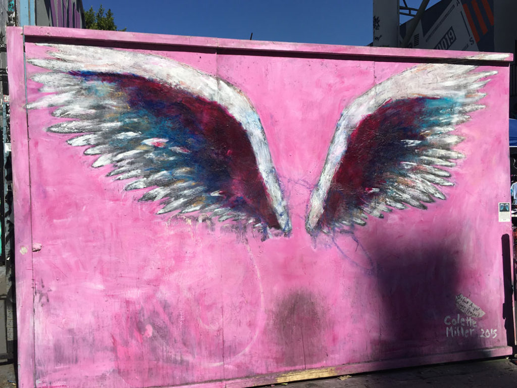 Colette Miller Angel Wings Melrose Ave