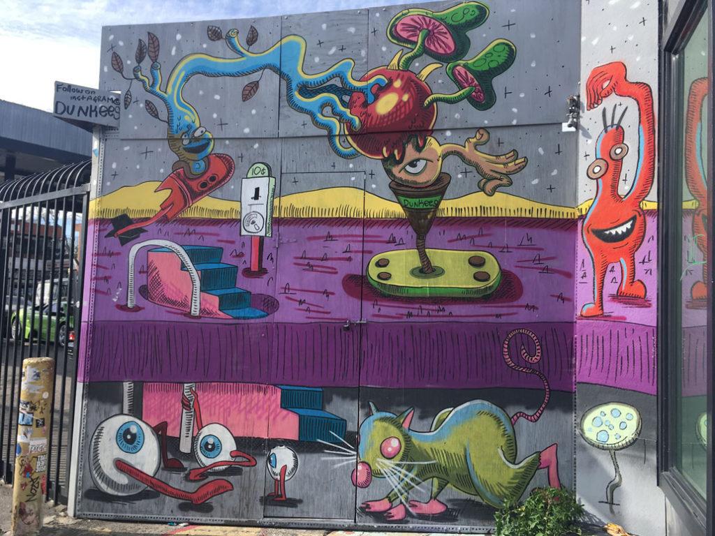 Dunkees Street Art Melrose
