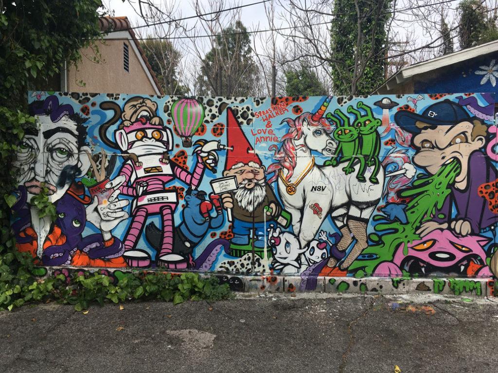 mural by Sebastien Walker and Annie Preece