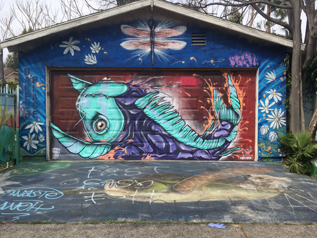 Street art Melrose Ave and Ogden