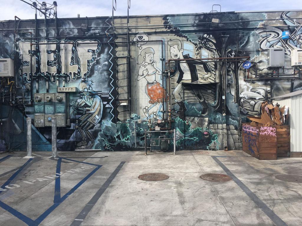 Street Art Melrose and Fuller